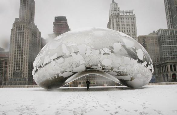 Snowy Chicago www.sensualappealblog.com