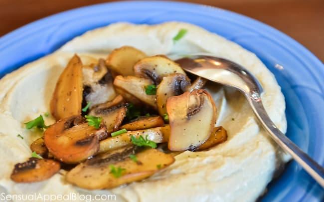 Mediterranean Druze food. Read the article on sensualappealblog.com