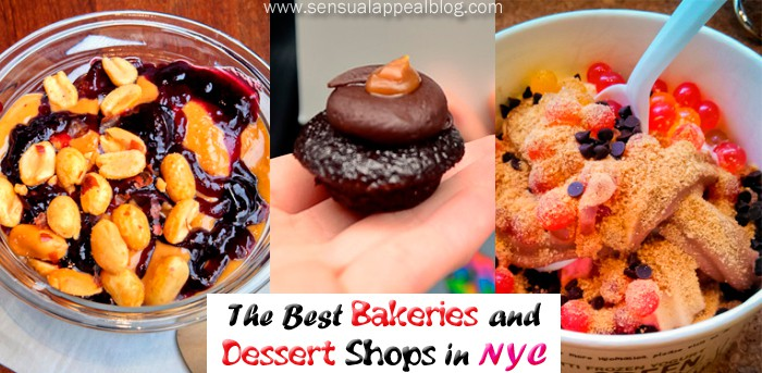 The best bakeries and dessert shops in NYC by sensualappealblog.com