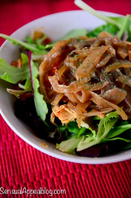 Crock Pot Caramelized Onions - So Easy but So Good!! #recipe