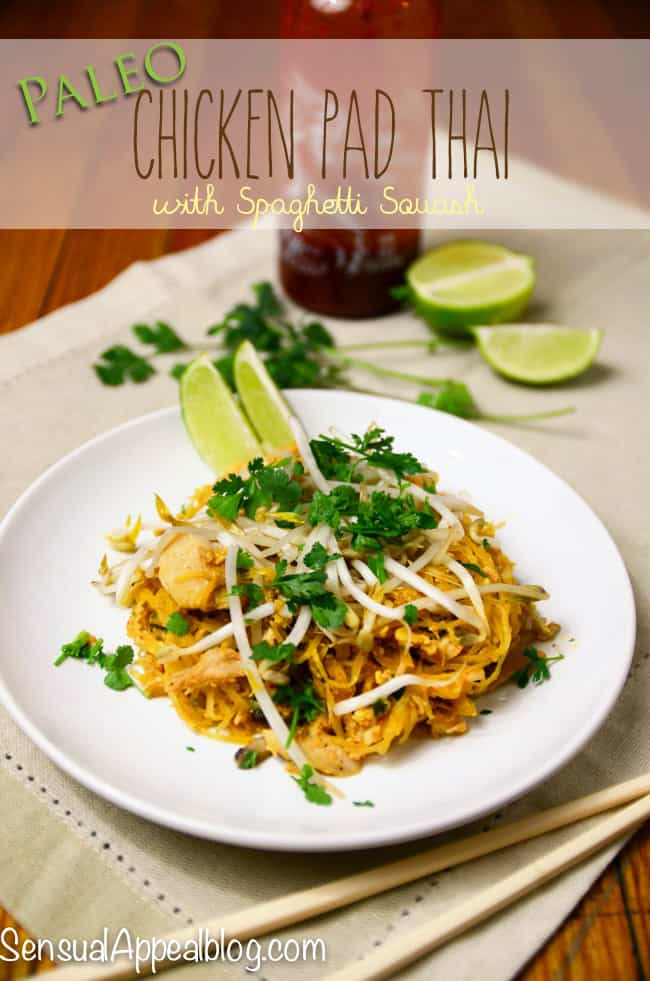 Paleo Chicken Pad Thai - delicious and so easy!