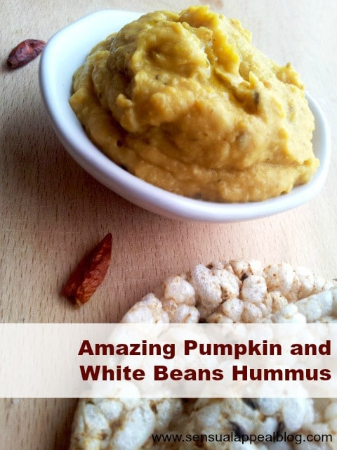 Amazing Pumpkin and White Beans Hummus to Astonish Your Guests and Yourself