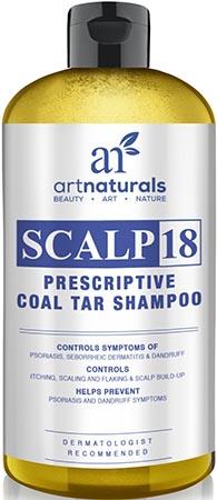 Art Naturals Scalp 18 Coal Tar Anti-Dandruff Shampoo